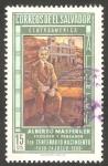 Stamps : America : El_Salvador :  227 - Centº del nacimiento del filósofo Alberto Masferre
