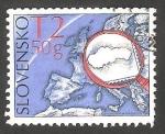 Stamps : Europe : Slovakia :  536 - 40 anivº de la Unión de Filatélicos eslovacos