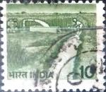 Sellos de Asia - India -  Intercambio 0,20 usd 10 p. 1982