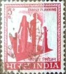 Stamps : Asia : India :  Intercambio 0,20 usd 5 p. 1967