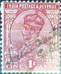 Stamps : Asia : India :  Intercambio 0,20 usd 1 a. 1911