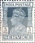 Stamps India -  Intercambio 0,40 usd 3 p. 1939