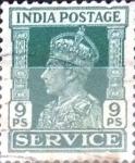 Stamps : Asia : India :  Intercambio 0,40 usd 9 p. 1939