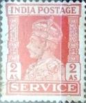 Sellos de Asia - India -  Intercambio 0,40 usd 2 a. 1939