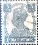 Stamps India -  Intercambio 0,20 usd 3 p. 1942
