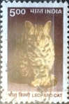 Stamps India -  Intercambio 0,20 usd 5 r. 2000
