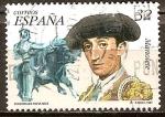 Sellos de Europa - España -  Personajes populares (Manolete).