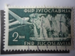 Stamps Yugoslavia -  Airmail - Turism.