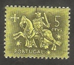 Sellos de Europa - Portugal -  774 - Escudo del Rey Denis