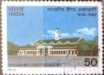 Stamps : Asia : India :  Intercambio crf 0,50 usd 50 p. 1982