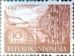 Stamps Indonesia -  Intercambio 0,20 usd 10 s. 1960