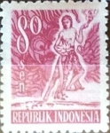 Stamps : Asia : Indonesia :  Intercambio 0,20 usd 80 s. 1953