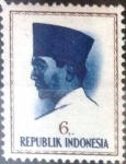 Sellos de Asia - Indonesia -  Intercambio 0,20 usd 6 r. 1964