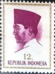 Stamps Indonesia -  Intercambio 0,20 usd 12 r. 1964
