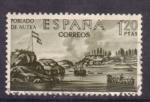 Stamps Spain -  forjadores de america