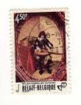 Sellos del Mundo : Europa : Bélgica : Musico