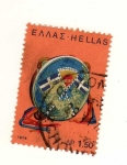 Stamps : Europe : Greece :  Instrumento musical