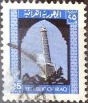 Stamps : Asia : Iraq :  Intercambio cxrf 0,20 usd 25 f. 1973