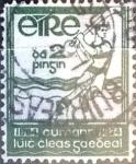 Sellos del Mundo : Europa : Irlanda : Intercambio 0,75 usd 2 p. 1934
