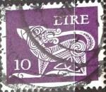 Sellos del Mundo : Europa : Irlanda : Intercambio 0,40 usd 10 p. 1977