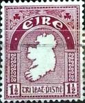 Sellos del Mundo : Europa : Irlanda : Intercambio 0,75 usd 1,5 p. 1941
