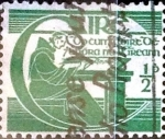 Stamps : Europe : Ireland :  Intercambio 0,25 usd 1/2 P. 1944
