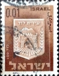 Stamps : Asia : Israel :  Intercambio 0,20 usd 1 a. 1965