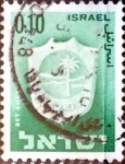 Stamps : Asia : Israel :  Intercambio 0,20 usd 10 a. 1965