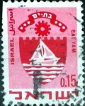 Stamps : Asia : Israel :  Intercambio 0,20 usd 15 a. 1969