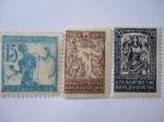 Stamps Europe - Slovenia -  Hombre de Verigar - liberación de los Pueblos Eslávicos - .
