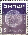 Stamps : Asia : Israel :  Intercambio 0,20 usd 5 p. 1949