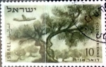 Stamps : Asia : Israel :  Intercambio crxf 0,20 usd 10 p. 1954