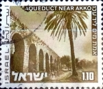Stamps : Asia : Israel :  Intercambio 0,20 usd 1,10 £  1973