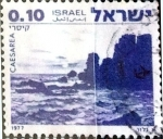 Stamps : Asia : Israel :  Intercambio 0,20 usd 10 a. 1977