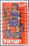 Sellos de Asia - Israel -  Intercambio cxrf 0,20 usd 7 a. 1961