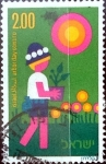 Stamps : Asia : Israel :  Intercambio cxrf 0,20 usd 2 £ 1975