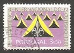 Sellos de Europa - Portugal -  902 - 18 conferencia internacional de scouts