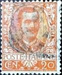 Sellos del Mundo : Europa : Italia : Intercambio 1,10 usd 20 cent. 1901