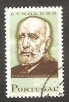 Stamps Portugal -  1001 - José Leite de Vasconcellos Pereira de Melo, etnólogo