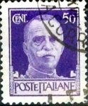 Stamps : Europe : Italy :  50 cent. 1944