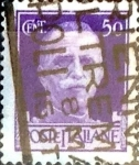 Sellos de Europa - Italia -  Intercambio 0,60 usd 50 cent. 1944