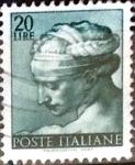 Sellos de Europa - Italia -  Intercambio 0,20 usd 20 liras 1961
