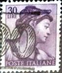 Sellos de Europa - Italia -  Intercambio 0,20 usd 30 liras 1961