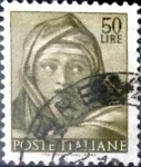 Stamps : Europe : Italy :  Intercambio 0,20 usd 50 liras 1961