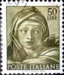 Sellos de Europa - Italia -  Intercambio 0,20 usd 50 liras 1961