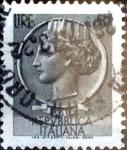 Sellos de Europa - Italia -  Intercambio 0,20 usd 5 liras 1968