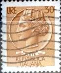 Sellos del Mundo : Europa : Italia : Intercambio 0,20 usd 30 liras 1968