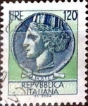 Sellos de Europa - Italia -  Intercambio 0,20 usd 120 liras 1977
