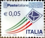 Stamps : Europe : Italy :  Intercambio xxxx usd 5 cent. xxxx