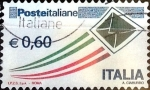Stamps : Europe : Italy :  Intercambio cr5f 0,85 usd 60 cent. 2009